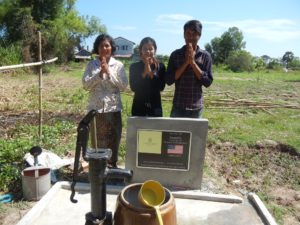 Water Well 1261 Cambodia-- Family